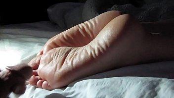Cumming On Girlfriend's Feet #1