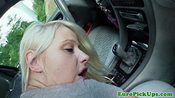 Publicsex euro babe fucks cock for cash