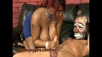 Black BBW Precious Deepthroats A Clown