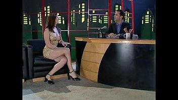 Chrissy Taylor banged on live TV 17 min