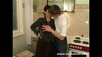 Russian mom banged by her sons friends 32 min