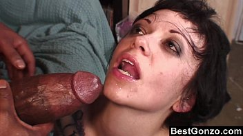 Goth Babe Wants In On His Huge Black Cock