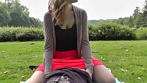 Cute bb rides her BF and gets creampied 8 min