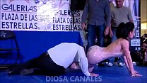 SHOW DIOSA CANALES PLAZA GALERIAS PARTE 2 4 min
