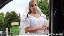 Horny bride Amirah gets banged by dude 6 min
