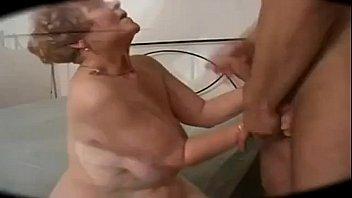 German Big Butt Curvy Granny 13 min