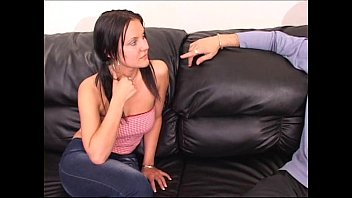 EasyDater - Brunette Housewife affair by using a blind dating service 14 min