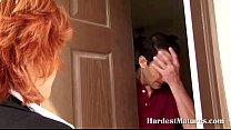 Mature redhead needs a payment 6 min