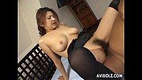 Busty Japanese babe wants it hard 11 min