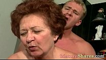 Mature woman likes take in y. dick 8 min