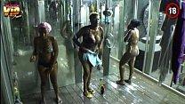 Big Brother Africa Hotshots Shower Hour - Goitse Butterphly Sipe Luis 4 min