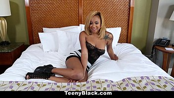 TeenyBlack - Ebony Creampie Surprise for (Diamond Monrow)