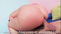 Asa Akira's Anal Workout 6 min