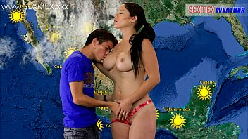 Slut Weather-girl gets fucked by TV assistant 20 min