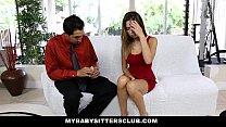 MyBabySittersClub - 18 y.o Babysitter (Melissa Moore) Loves To Fuck Her Boss
