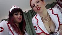 Naughty Nurses Keep You Immobilized
