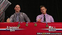 Brazzers - (Brandi Love, Diamond Jackson, Jewels Jade, Kendra Lust, Bill Bailey, Johnny Sins) - Miss Titness America