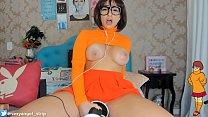 ASMR 3DIO Cosplay Welma Scooby-Doo! Welma safadinha fazendo-te gozar GOSTOSO, Teasing Queen