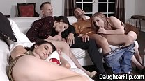 Gracie May Green and Tory Bellamy Sucking Cock and Fucked