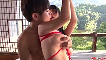 Rina Mayuzumi fucked in bondage scenes and made to swallow