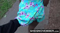 HD Risky Street POVBlowjob By BlackFreak Msnovember Sucking Strangers Cock For Attention on Sheisnovember