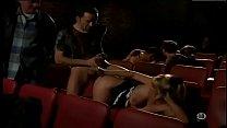 Orgy in cinema