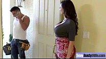 Hard Intercorse Action With Big Tits Slut Mommy (ariella ferrera) clip-02