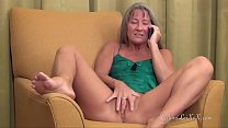 Milf Dirty Talks on the Phone with Lover