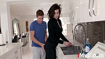 Son Wants To f. Fuck Stuck Mom First- Becky Bandini