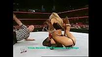 Trish Stratus vs Mickie James. Raw.