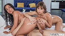 VIXEN Riley Reid and Teanna Trump live to be bad