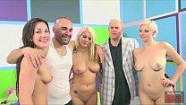 FUCK A FAN with a Lucky Latino and Big Booty Pornstars Jennifer White, Jenna Ivory & Layla Price