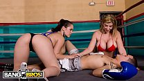 BANGBROS - Sara Jay & Kristina Rose Revive Fallen Boxer On Ass Parade #TBT