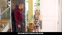 MyBabySittersClub - Pale Skinned BabySitter (Lily Rader) Punished by Homeowner