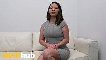 Fake Agent Spanish babe Adara Love rides agent's cock