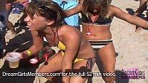 Teeny Weeny Bikini Party On Spring Break In Texas