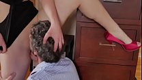 Piper Blush gets eaten in high heels