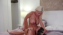 Latina milf Bridgette B and Melissa Moore
