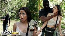 BANGBROS - Jay Has Outdoor Sex With Petite Black Treat, Maya Bijou