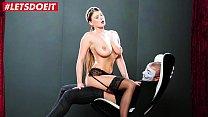 Big Tits Maid fucks her boss - Lucy Li