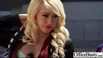 Horny Busty Girl (kagney linn karter) Fucks Hardcore In Office clip-23