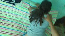 Hard anal to older stepsister, homemade amateurs in mom's house room, HD creampie.