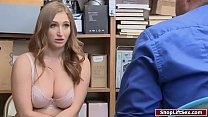 Busty shoplifter analed by LP officer