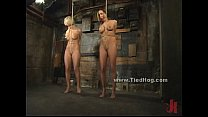 Sexy blonde slut immobilized and bound (Stop jerking off! Visit RealOne24.com)