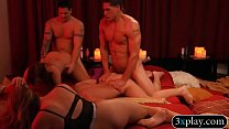 Horny married partners swinging and orgy