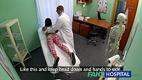 FakeHospital Young teen girl not on birth control bends over