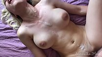 Super hot babe makes his cum twice - kinkycouple111