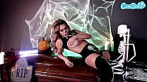 CAMSODA - HALLOWEEN MOM FUCKED BY SKELETON FUCKING MACHINE