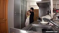 Japanese housewife, Erena Yamamoto got gangbanged in her home, uncensored