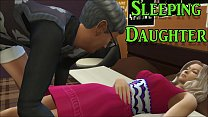 Dad Fucking Sleeping Daughter After Watching Her Sleep And Masturbating Next To Her In A Chair - Porn Video - Adult Movie